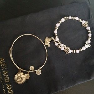 **RESERVED**Alex & ani Disney exclusive bangle set
